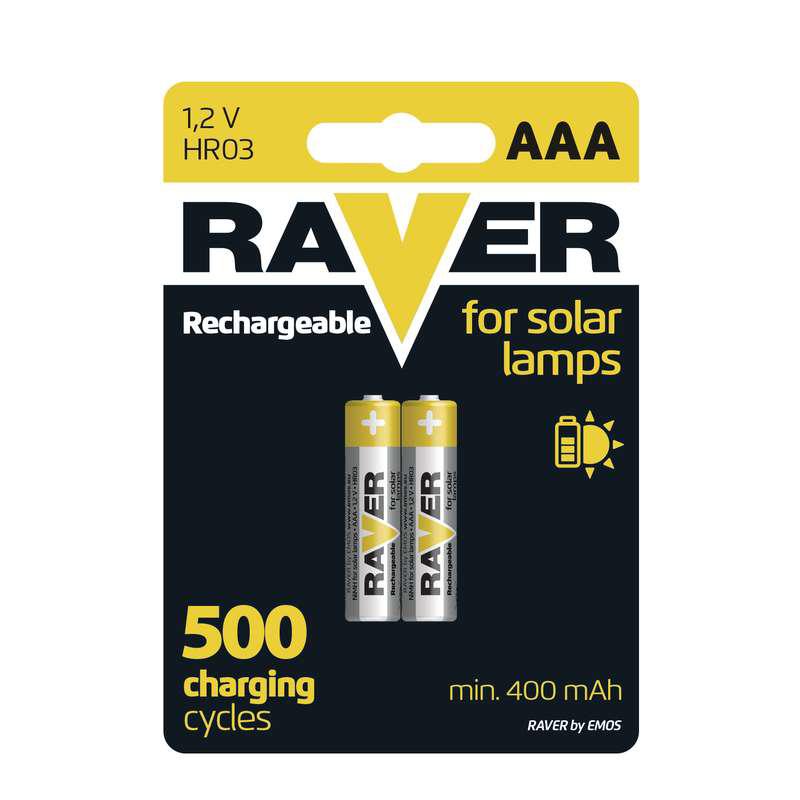 Baterii RAVER REINCARCABILE NIMH AAA (2BUC/BLISTER...