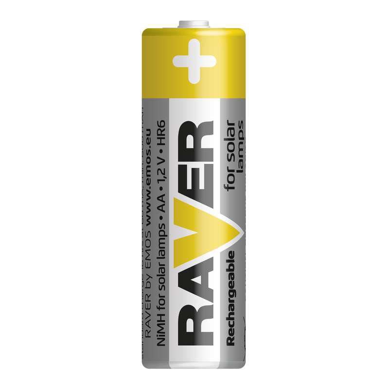 Baterii RAVER REINCARCABILE NIMH AA (2BUC/BLISTER) EMOS