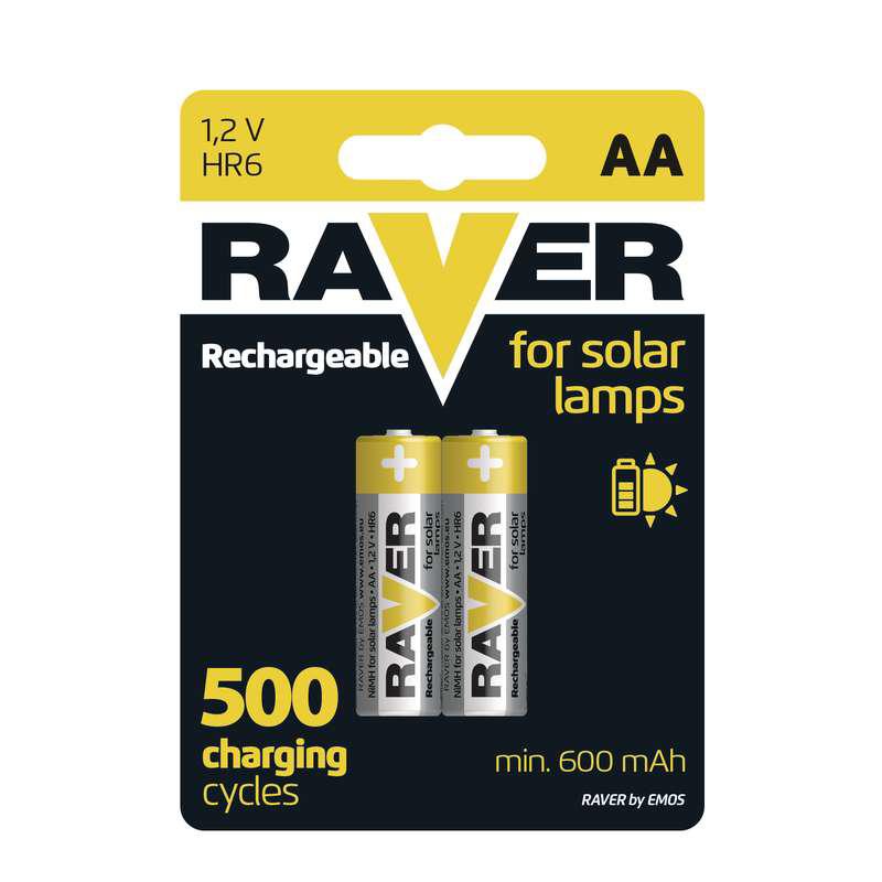 Baterii RAVER REINCARCABILE NIMH AA (2BUC/BLISTER)...