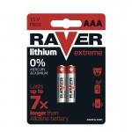 Baterii RAVER LITIU AAA (2BUC/BLISTER) EMOS