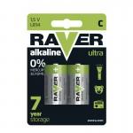 Baterii RAVER ALKALINE LR14 (2BUC/BLISTER) EMOS