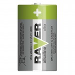 Baterii RAVER ALKALLINE LR20 (2BUC/BLISTER) EMOS
