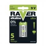 Baterii RAVER ALKALINE 6LF22 (1BUC/BLISTER) EMOS