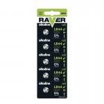 Baterii RAVER ALKALINE LR44 (1BUC/BLISTER) EMOS
