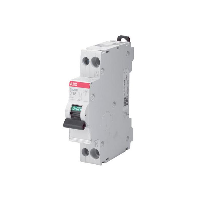 INTRERUPATOR AUTOMAT SN201L-C 10A 1P+N 4.5kA ABB