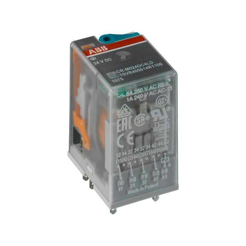 RELEU DE COMANDA CR-M012DC3L 10A 12VDC 3C/O LED ABB