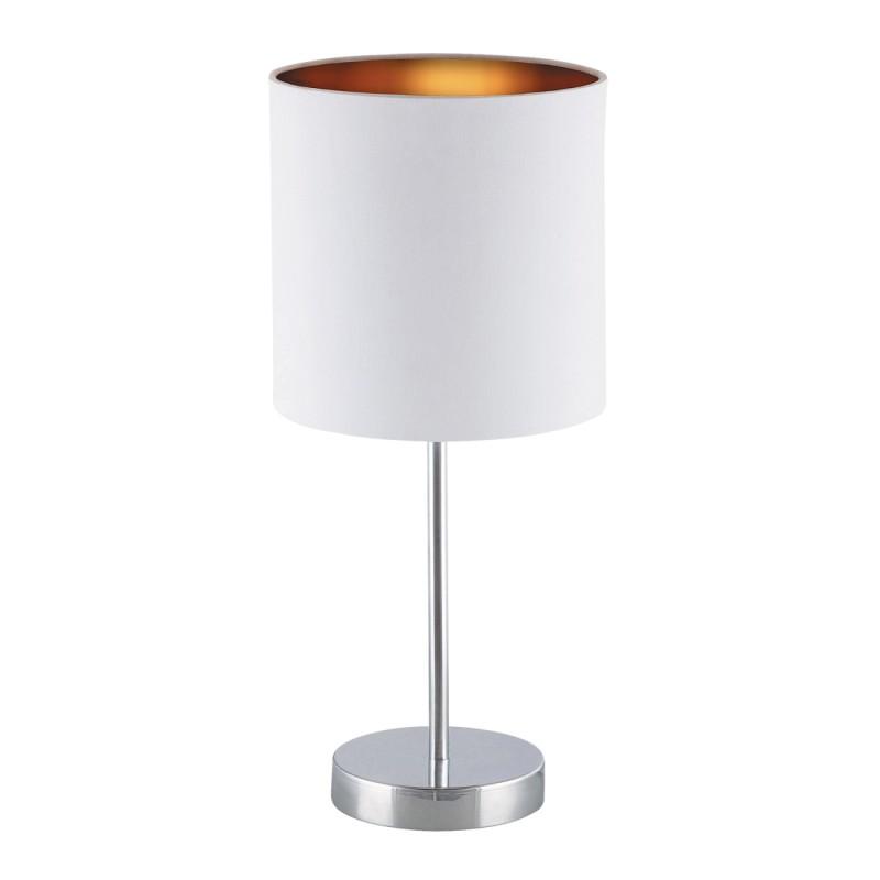 LAMPA DE MASA MONICA E27 60W 180X430MM ALB/GOLD RABALUX