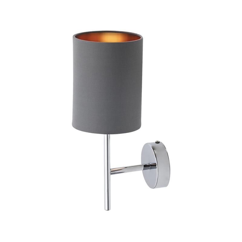 LAMPA DE PERETE MONICA E14 40W GRI RABALUX