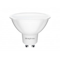BEC LED 5W MR16 GU10 6500K 220-240V BRAYTRON