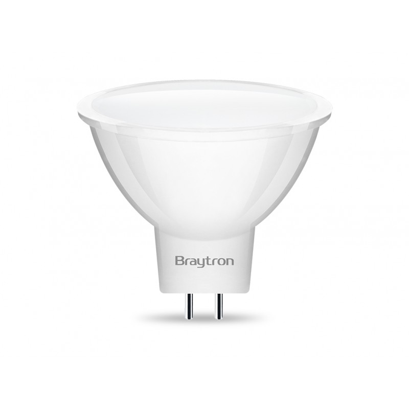 BEC LED 5W  MR16 GU5.3 3000K 220-240V BRAYTRON