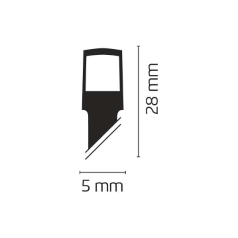 LANT CONECTABIL LUMINOS PLASA 160LED 2x1.5m 230V ALB CALD EMOS