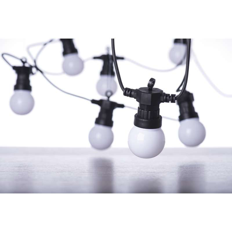 GHIRLANDA PARTY BULB LED 10X2.25W 3000K IP44 5M EM...