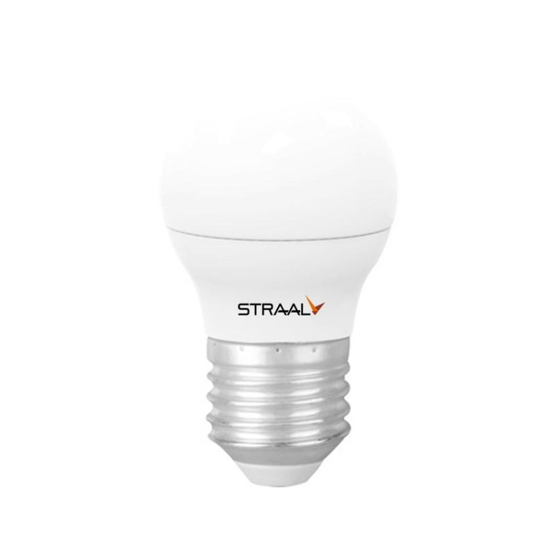 BEC LED G45 6W 470LM E27 195-240V 6500K STRAAL