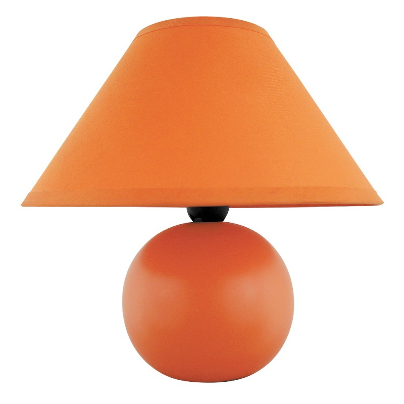 LAMPA DE MASA ARIEL E14 40W 200X190MM ORANGE RABAL...