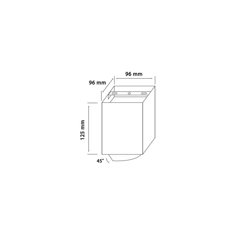 SPOT GAMA-SS GU10 220-240VAC Negru BRAYTRON