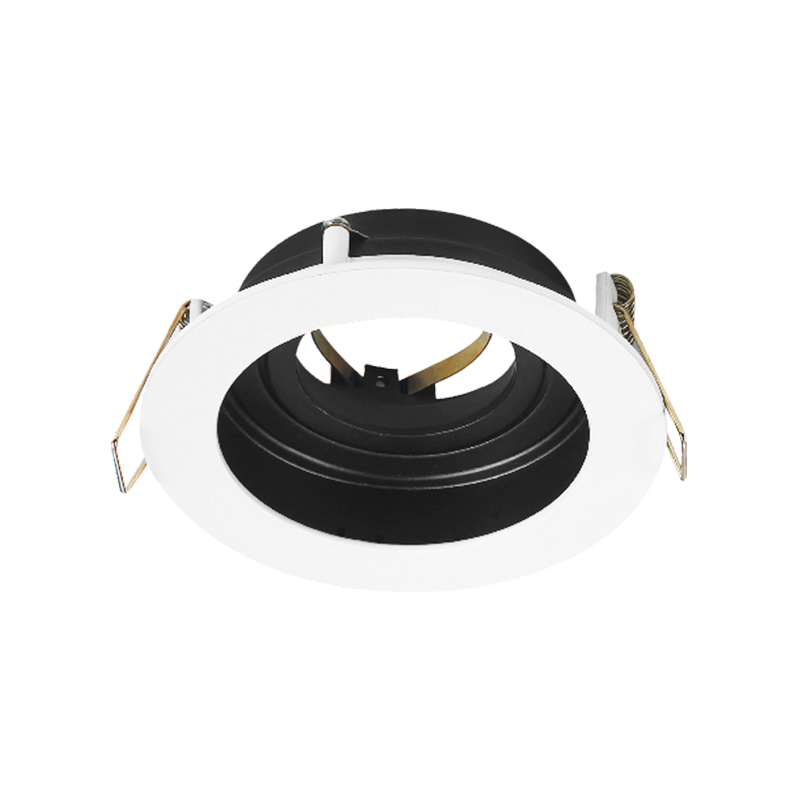 SPOT BETA-RR1 GU10 220-240VAC D100MM White+Black BRAYTRON