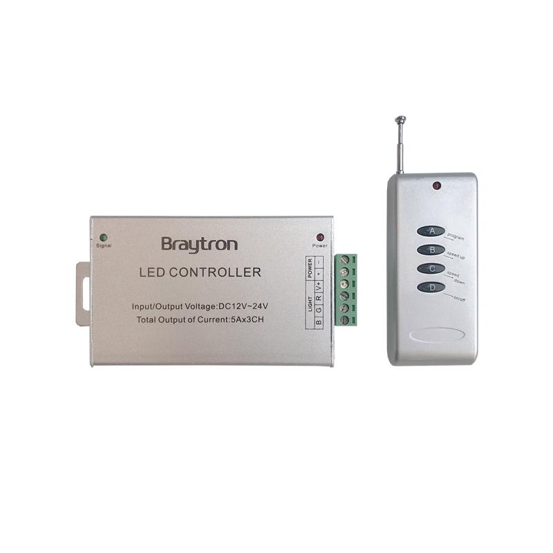CONTROLER BANDA LED RF-RGB 180W BRAYTRON