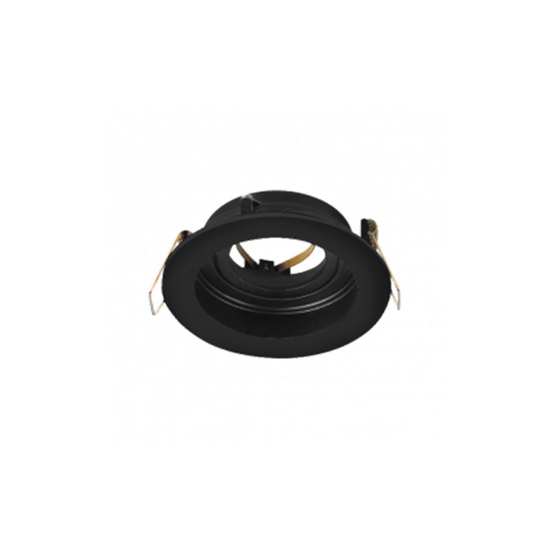 SPOT BETA-RR1 RND 220-240VAC IP20 Negru BRAYTRON
