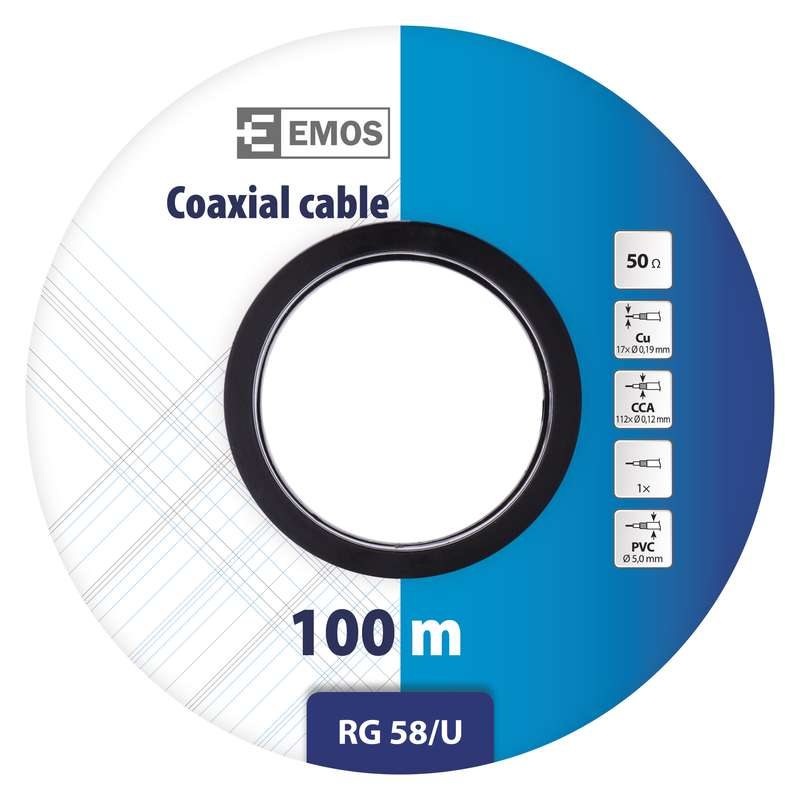 CABLU COAXIAL RG58U S5212  EMOS