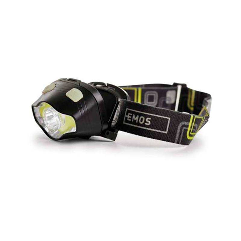 LANTERNA DE CAP LED+COB 3W P3536 EMOS
