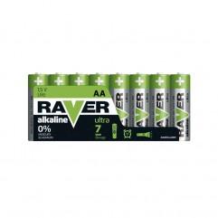 Baterii RAVER ALKALINE LR6 AA (8BUC/BLISTER) EMOS