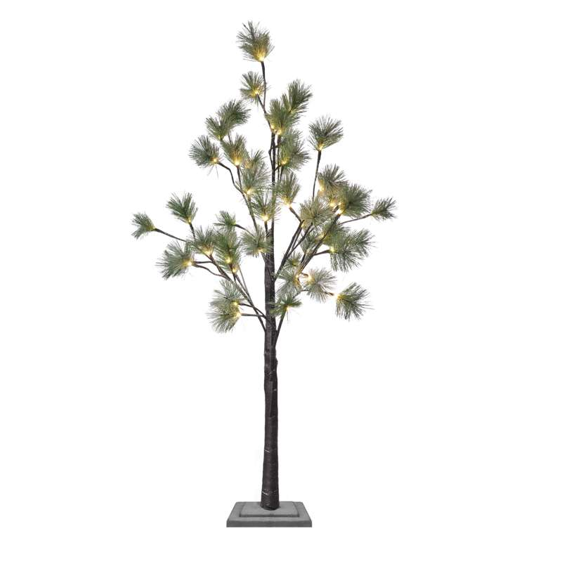 DECORATIUNE DE CRACIUN 48LED COPAC PIN IP44 120cm 230V ALB CALD EMOS