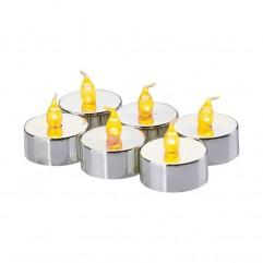 SET LUMANARI 6 LED ARGINTII 6XCR2032 ZY2150 EMOS