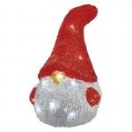 Elf de Crăciun 16LED 3XAA IP20 ALB RECE 14X20CM EMOS