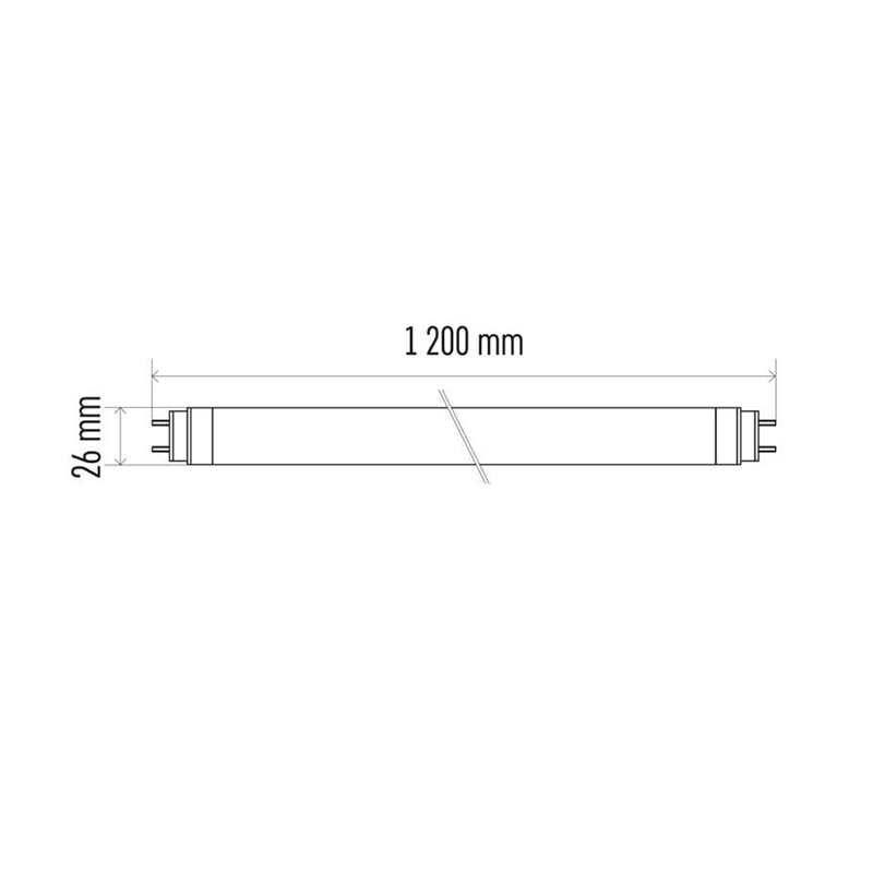 TUB LED T8 18W 1800LM 4000K EMOS