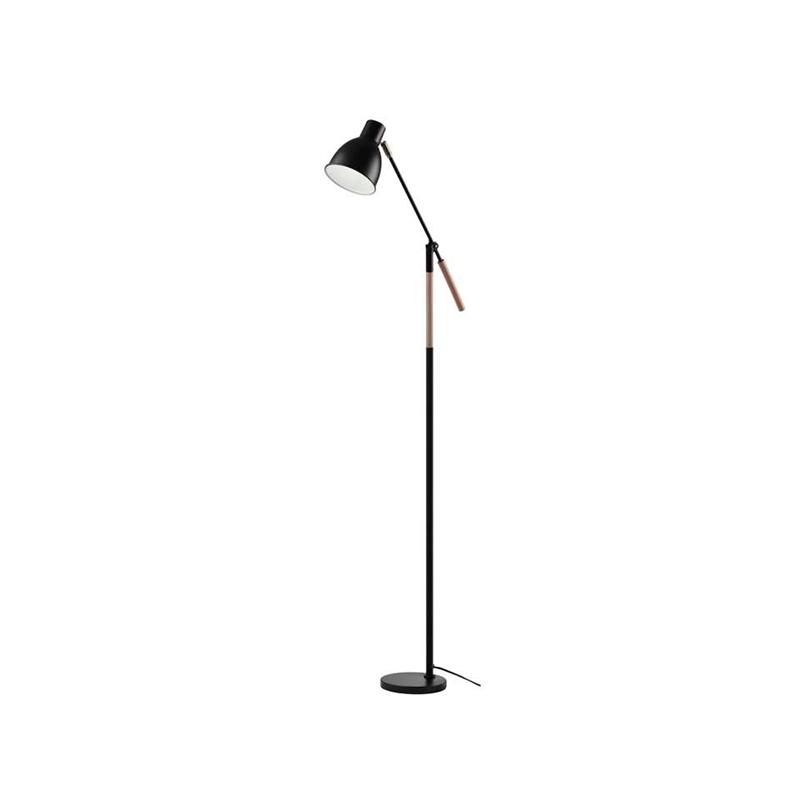 LAMPA DE PODEA EDWARD E27 MAX. 60W 150CM NEAGRA EMOS