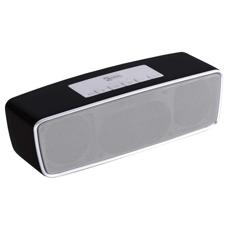 SOUNDBOX USB/FM/BLUETOOTH 4OHM/6W 3.7V/1500 mAh lithium E0070 EMOS