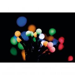 GHIRLANDA CHERRY 96LED 10M 230V REM RGB 8MODURI EMOS
