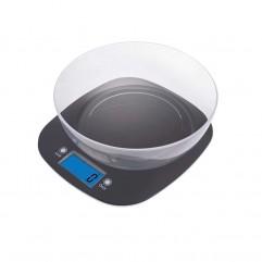 CÂNTAR DE BUCĂTĂRIE 5kg 2xAAA ABS-PLASTIC EV025 NEGRU EMOS