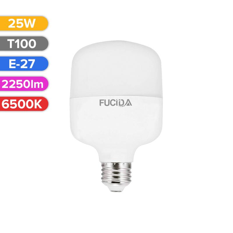 BEC LED T100 25W 2250LM 765 6500K E27 FUCIDA