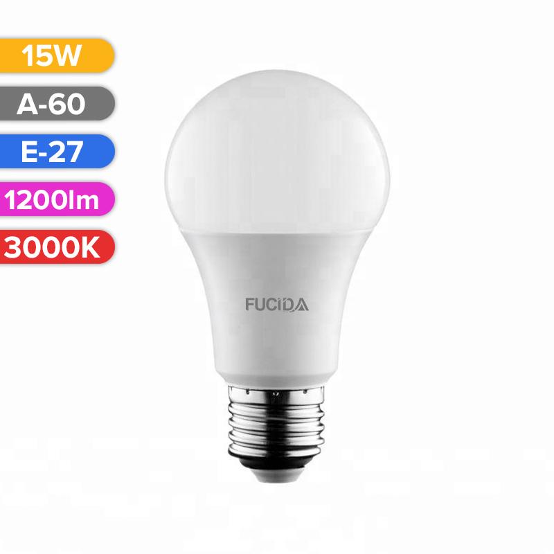 BEC LED A60 15W 1200LM 830 3000K E27 FUCIDA