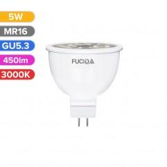 BEC LED SPOT 5W 450LM 830 3000K GU5.3 FUCIDA