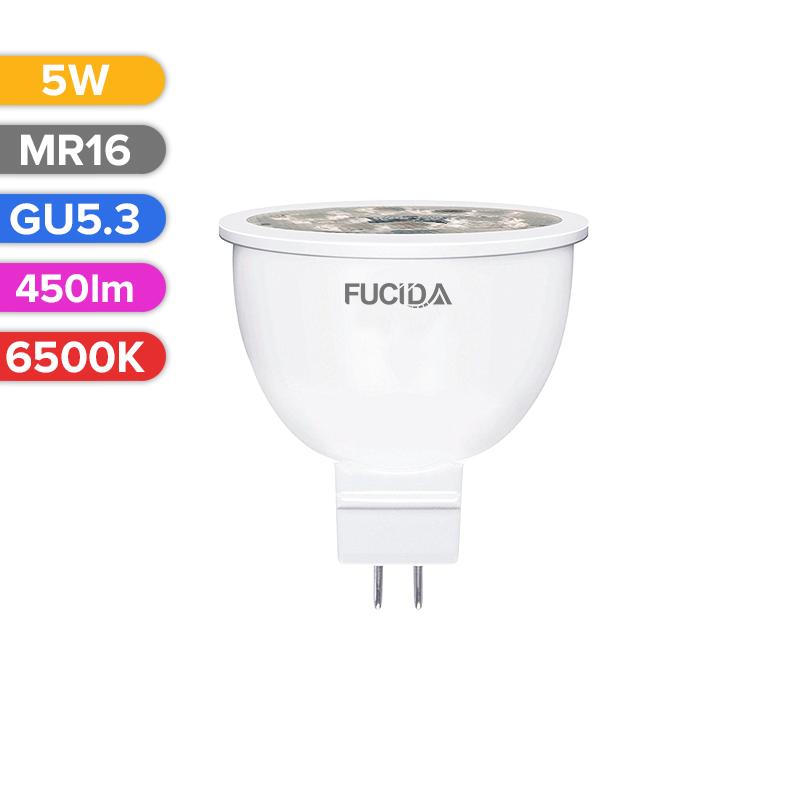 BEC LED SPOT 5W 450LM 865 6500K GU5.3 FUCIDA