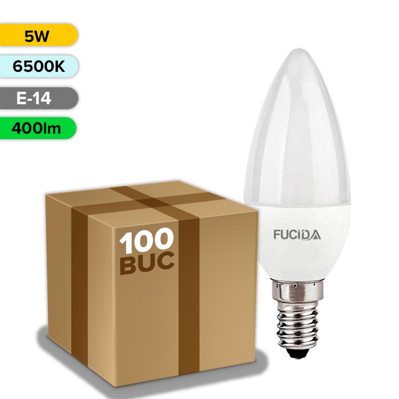 BEC LED C37 5W 400LM E14 FUCIDA ANGRO