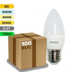 BEC LED C37 8W 720LM E27 FUCIDA ANGRO