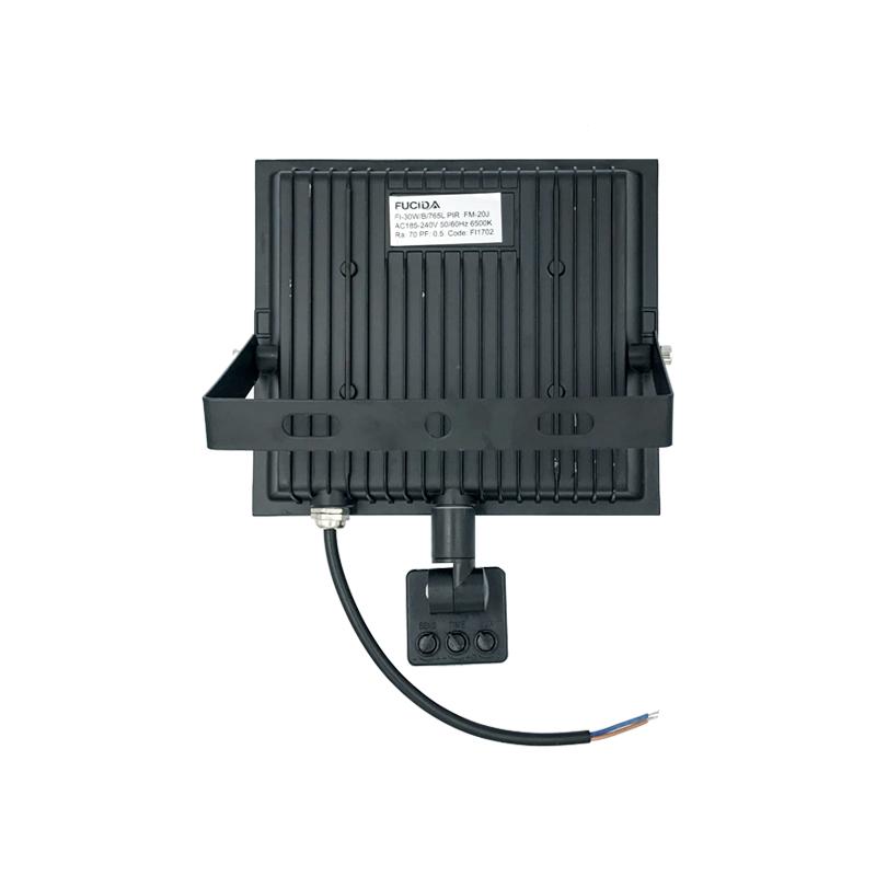 PROIECTOR LED CU SENZOR 30W 2700Lm 6500K IP65 FUCIDA