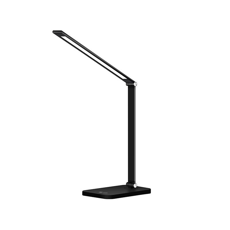LAMPA DE MASA LED SMART 6W 12moduri 5V USB/WIRELESS MT856 NEGRU FUCIDA