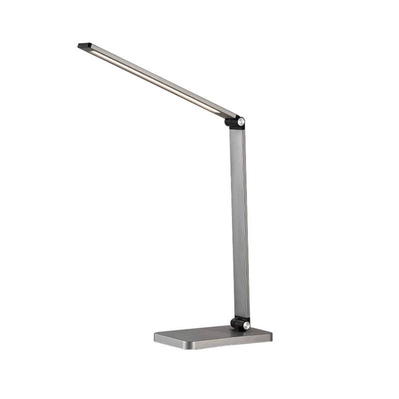 LAMPA DE MASA LED SMART 6W 12moduri 5V USB/WIRELESS MT856 GRI FUCIDA