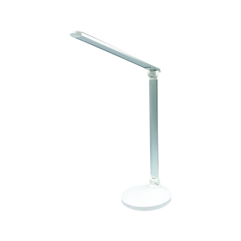 LAMPA DE MASA LED CORAL 5.2W 5000K 5V DIMABIL MT838 argintie FUCIDA
