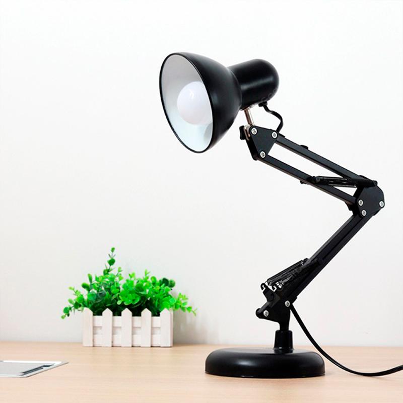 LAMPA DE MASA PIXAR E27 1X60W MT811 NEGRU FUCIDA