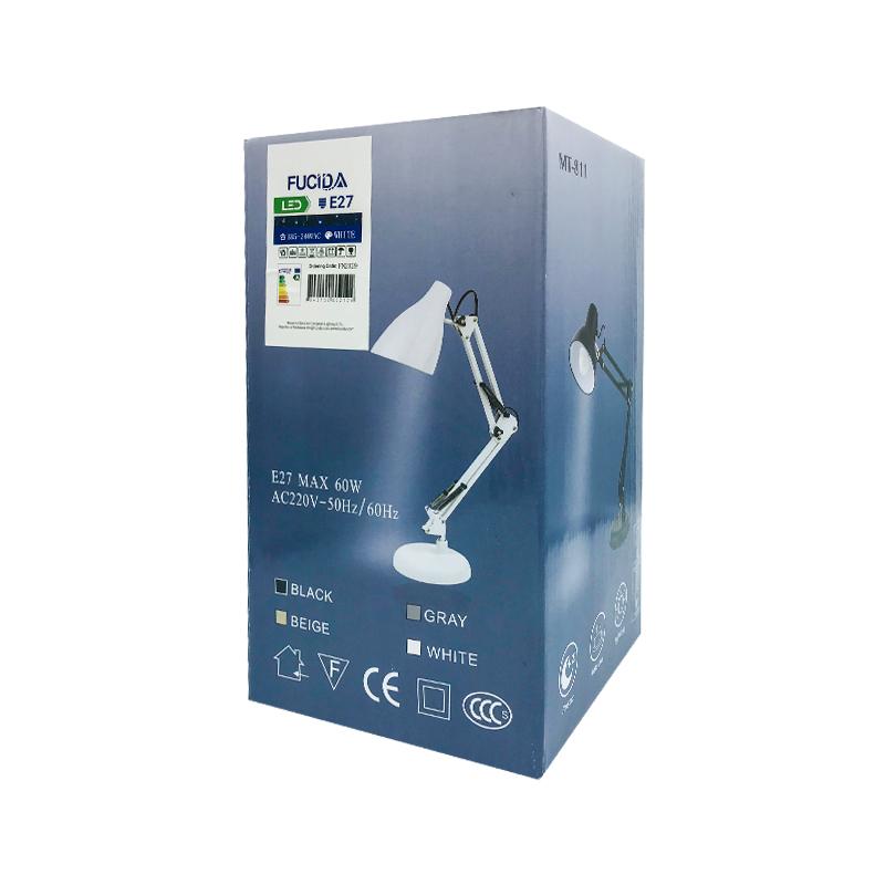LAMPA DE MASA PIXAR E27 1X60W MT811 ALB FUCIDA