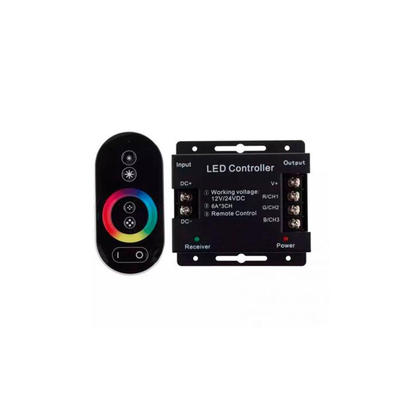 CONTROLLER LED RGB TOUCH 216W/432W (12V/24VDC) 6Ax3CH FUCIDA