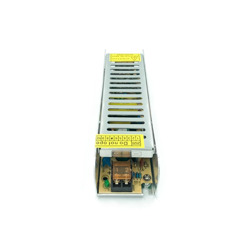 DRIVER BANDA LED BASIC 31MM 60W 5A 12VDC FUCIDA