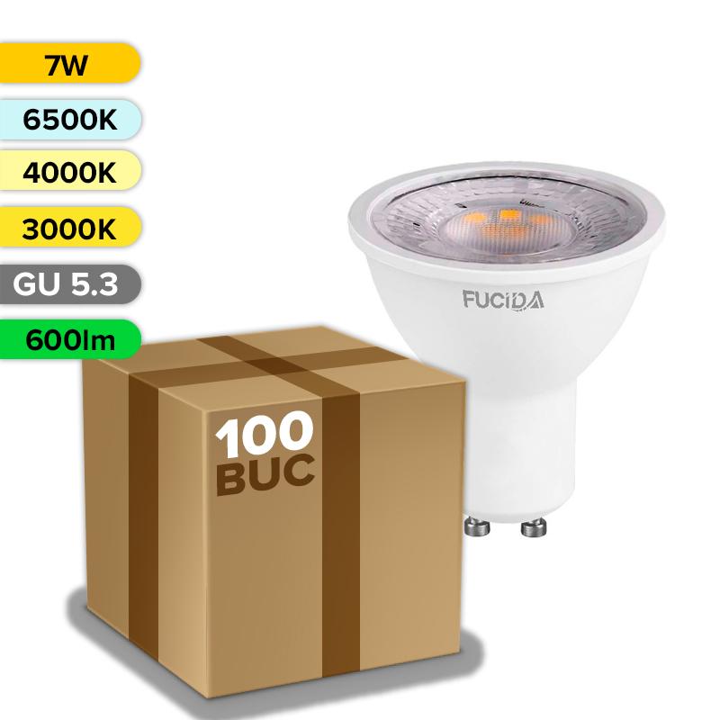 BEC LED GU10 7W 600LM  FUCIDA ANGRO
