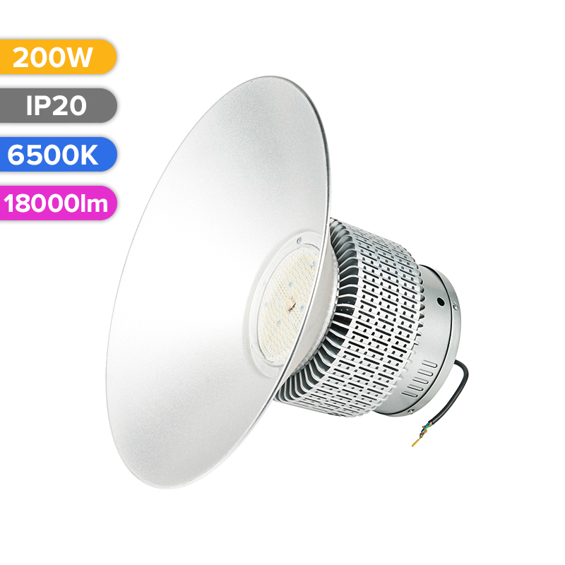 LED HIGHBAY 200W 18000LM 765 6500K FUCIDA
