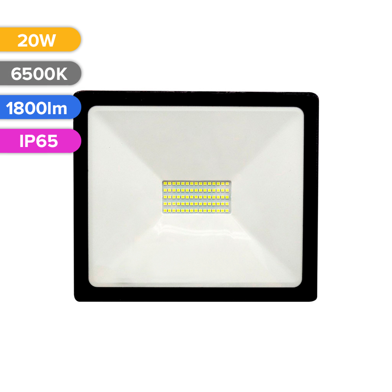 PROIECTOR LED 20W 1800LM 765 6500K IP65 FUCIDA